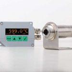 Mit der Anzeige- und Kontrolleinheit DCU 400 können die DIAS PYROSPOT Pyrometer einfach und schnell parametriert werden.