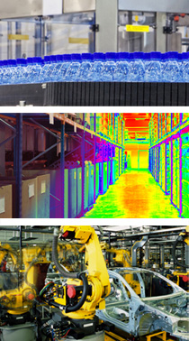 infrared camera with numerous application areas
