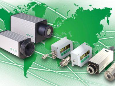 Großes weltweites Vertriebsnetz für DIAS Produkte