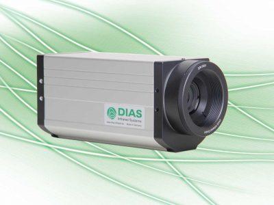 Wärmebildkamera zur Messung hoher Temperaturen