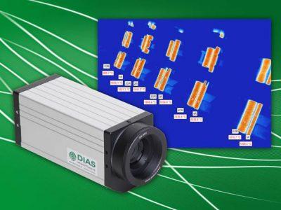 DIAS Wärmebildkamera PYROVIEW 320N mit hochdynamischen NIR-Sensor für die berührungslose Temperaturmessung an Metall, Glas und Keramik