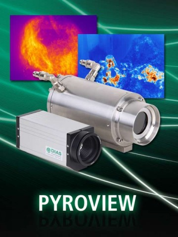 Infrared camera PYROVIEW by DIAS Infrared for industry, research and development