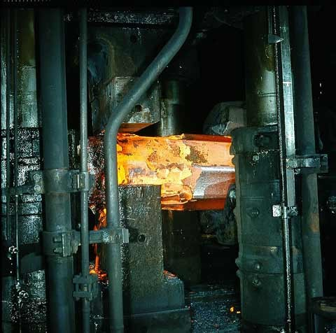 The proper forging temperature of the workpiece is a decisive quality factor.