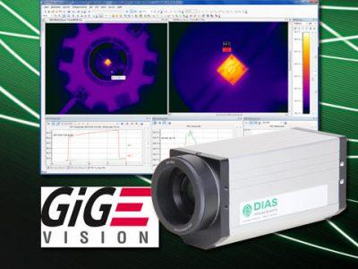 Alle Wärmebildkameras von DIAS Infrared jetzt mit GigE® Vision Interface