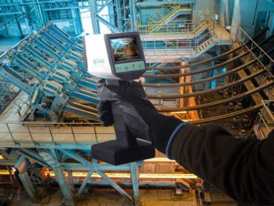 Die neuen portablen Handpyrometer mit Video-Kamera von DIAS Infrared; PYROSPOT Serie 80.