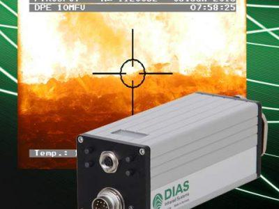 Schnelle digitale DIAS-Wechsellichtpyrometer PYROSPOT DP 10N, DPE 1ßM und DPE 10MF für berührungslose Temperaturmessungen ab 20 °C an Metallen, Keramik, Graphit und weiteren Materialien