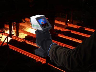 NEUHEIT: Tragbare Wärmebildkamera PYROVIEW 480N portable für Hochtemperaturmessungen von DIAS Infrared