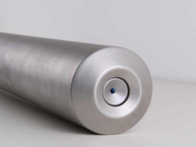 Die Boreskopoptik der PYROINC Infrarotkamera ist mit einem Schutzfenster ausgestattet. Die Optik ist in Verbindung mit einer patentierten Spülung im Feuerraum optimal geschützt.