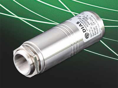 Die neue Pyrometer-Serie PYROSPOT 25 verfügt über eine Parametrierschnittstelle