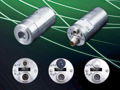 Mit einem Motorfokus, der sich per Software und Tasten steuern lässt, sowie mit verschiedenen Visierrmöglichkeiten sind die Pyrometer der neuen PYROSPOT Serie 55 bestens ausgestattet.