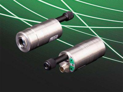 Kompaktpyrometer PYROSPOT Serie 55 mit Display, Bedientasten und optionalem Motorfokus von DIAS Infrared