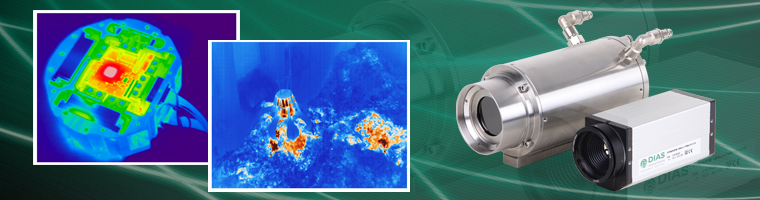 Infrared cameras in protection housing for industrial applications