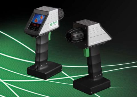 The portable DIAS infrared camera PYROVIEW 480N is suitable specifically for the measurement of high temperatures.