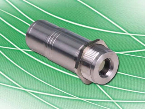 Digital pyometers PYROSPOT Series 4x can measure through flames so that the flame has no influence on the measurement results of the surface temperature of the material.