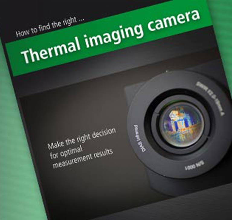 "For free: Our whitepaper ""How to find the right thermal imaging camera"" provides important information you need to know"