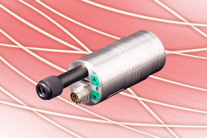 The new pyrometer series PYROSPOT 55 of DIAS comes with different fixed optics or vario optics with motor focus. The infrared thermometers are available with laser aiming light, color video camera or through-lens sighting